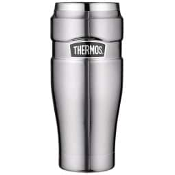 THERMOS by alfi Thermobecher 470 ml STAINLESS KING Edelstahl matt