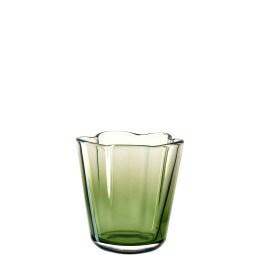 LEONARDO Windlicht CASOLARE 16 cm Glas grün
