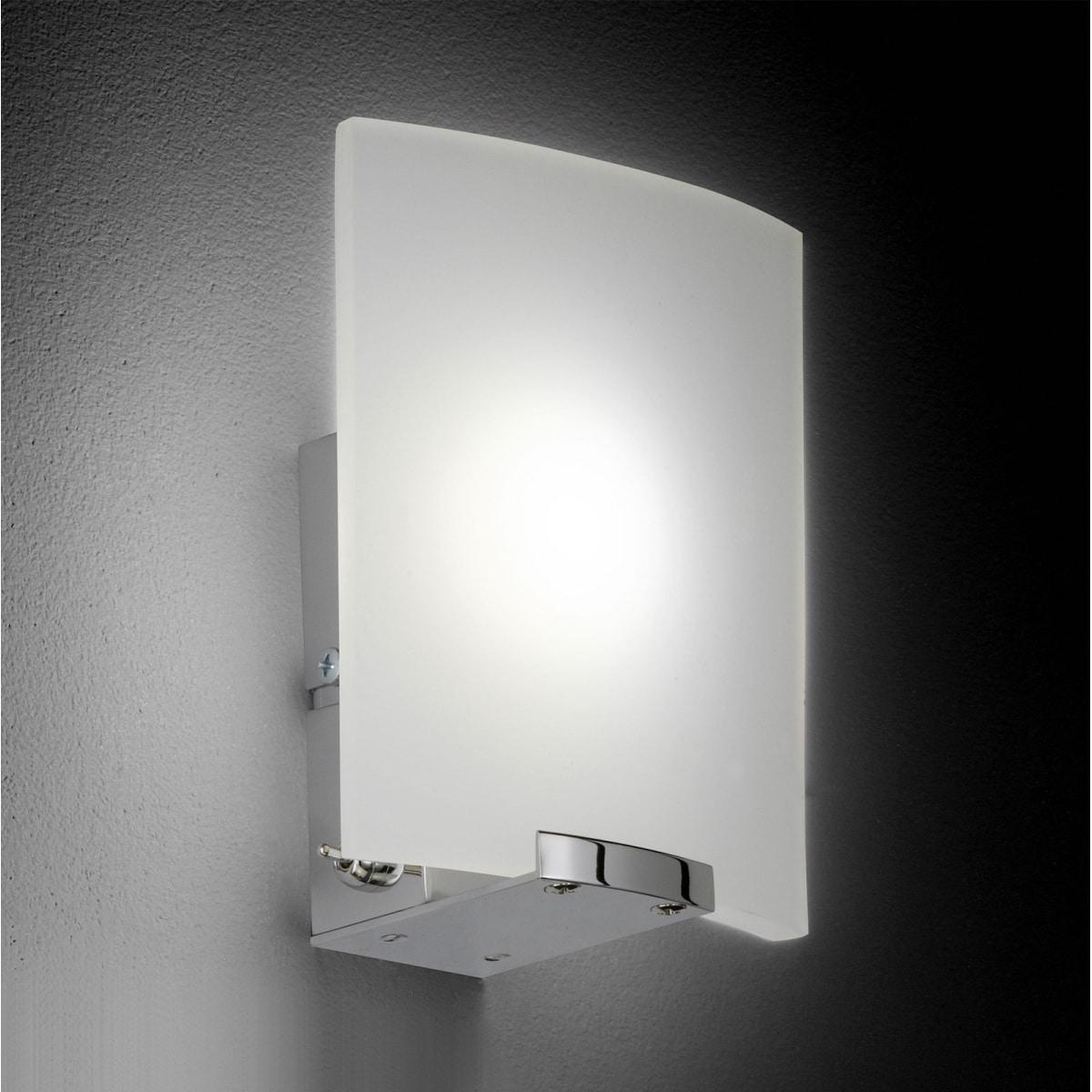 fischer honsel led wandlampe luis mit schalter porta. Black Bedroom Furniture Sets. Home Design Ideas