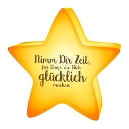 la vida Geschenk für Dich :-) Nachtlicht NIMM DIR ZEIT FÜR DINGE