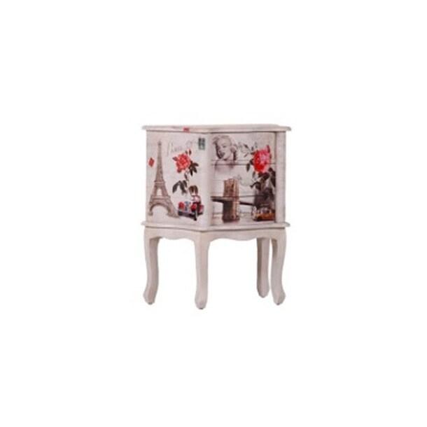 Interhome kommode paris wei lackiert ca 60 x 70 x 35 cm for Inter home design
