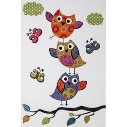 Kinderteppich DIAMOND KIDS EULE 80 x 150 cm